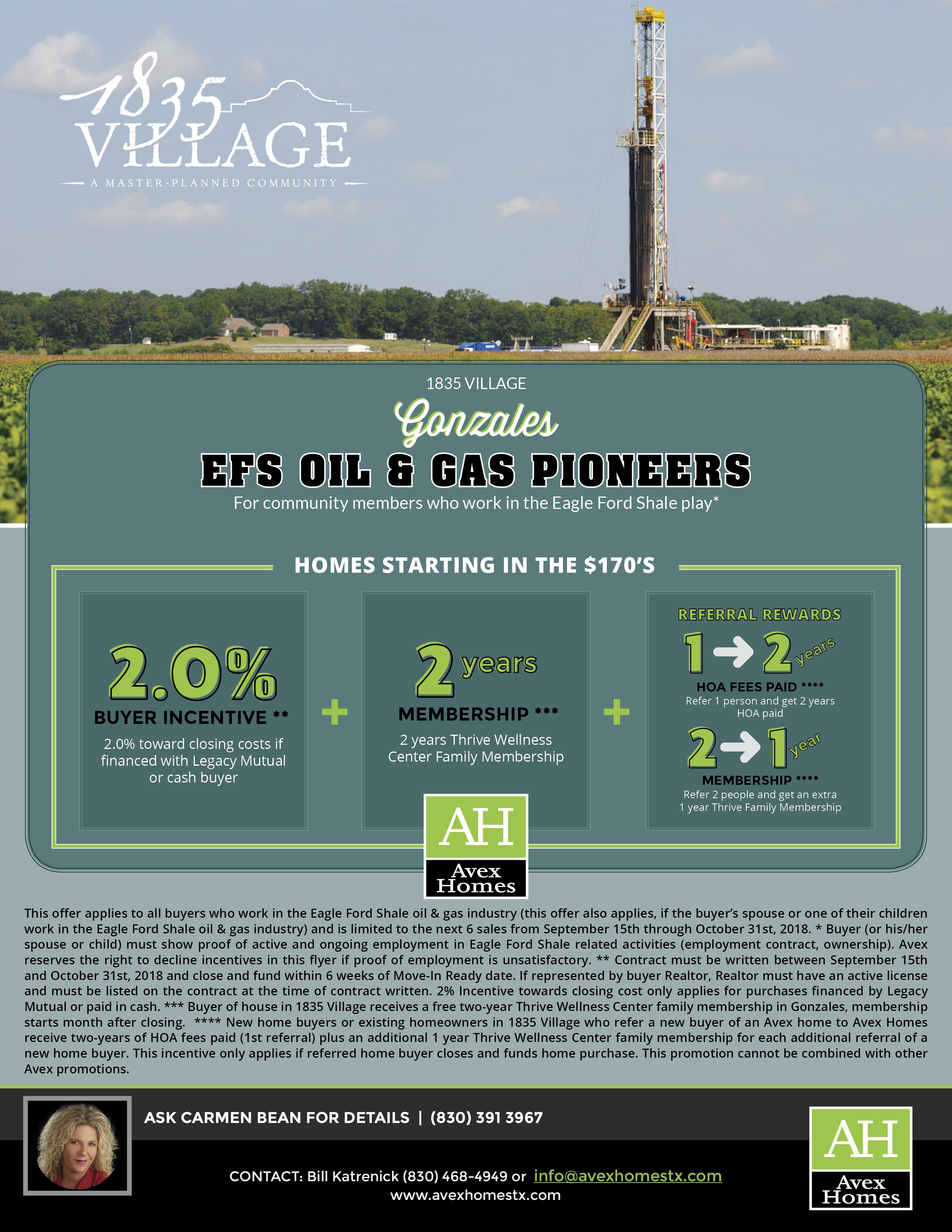 Avex-Eagle-Ford Oil and Gas Pioneers - Gonzales